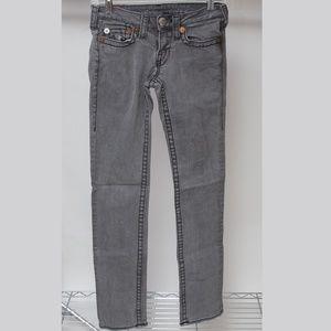 True Religion Steve Big T Skinny Jeans Size 27